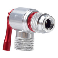Fahrrad Zubehör Silber Aluminium Legierung Klassische 1pc CO2 gasgeneratoren Fahrrad Mini Pumpe CO2 Inflator Fahrrad Ball Pumpe Fahrrad K-in Fahrradreparaturwerkzeuge aus Sport und Unterhaltung bei