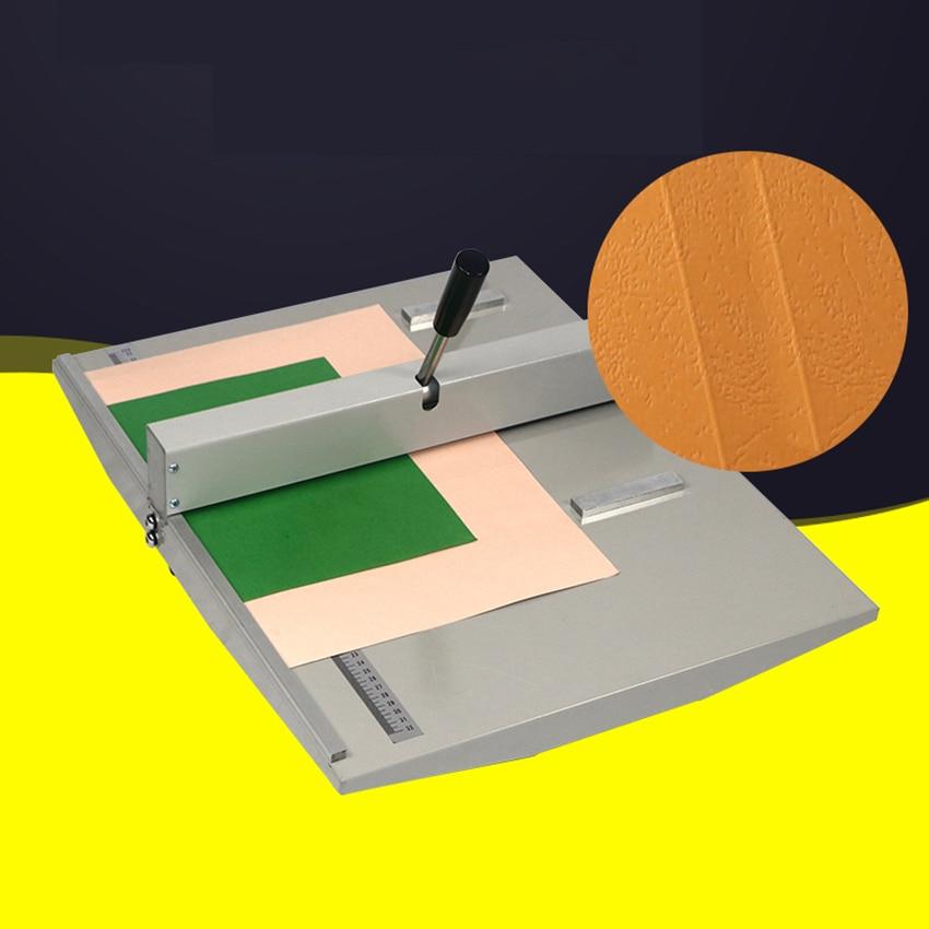 "18"" 460mm Manual Paper Creasing Machine A3 Paper Creaser Scoring Folding Machine For Paper Photo Card Book Binding Equipment"