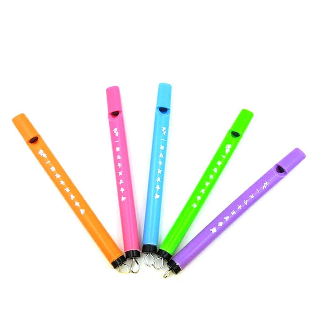 1 piezas Color al azar instrumento de aprendizaje armónica temprano los niños aprendizaje y ejercicio tipo juguete Unisex silbando Piano