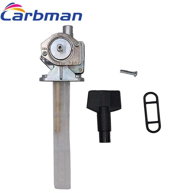 Carbman Kraftstoff Hahn Ventil Petcock für Suzuki GSF1200 Bandit 1200 44300 32F10