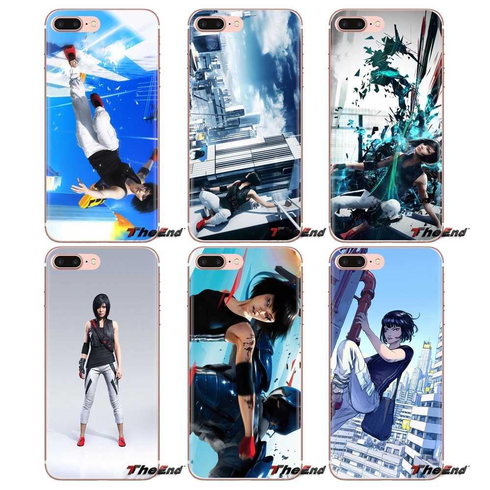 Voor LG Geest Motorola Moto X4 E4 E5 G5 G5S G6 Z Z2 Z3 G2 G3 C Play Plus Mini spiegel Rand Nieuwe concept game Telefoon Cover Behuizing