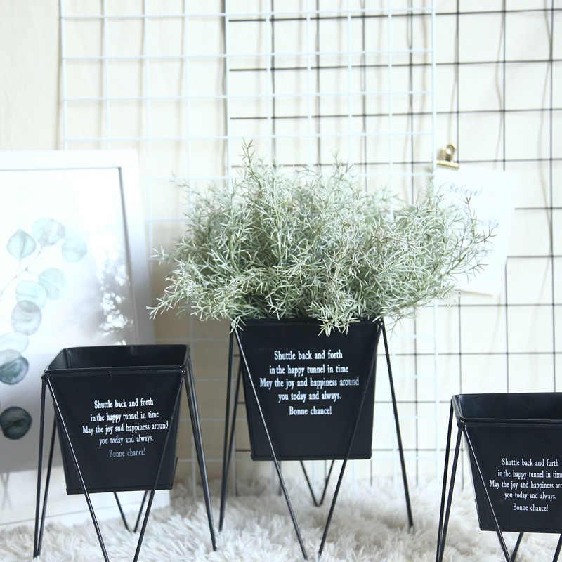 1 Ikat Buatan Palsu Daun Kayu Putih Meninggalkan Pesta Pernikahan Palsu Hiasan Dekorasi Rumah Pine Needle Rumput Daun Simulasi Daun Dekorasi