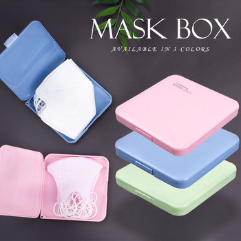 Face Mask Case Storage Box, Portable Mask Storage Bag, Masks Organizer For Recyc Mascarillas Mouth Cover Drop-shipping Wholesale image