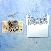 Naifumodo Envelope Dies Box Frame Metal Cutting for Craft Scrapbooking Album Embossing New 2019 Arrival