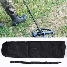 Universal Metal Detector Carry Bag Black Detecting Backpack Underground Metal Finder Handbag