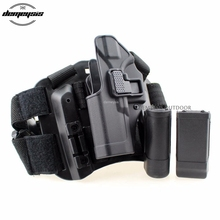 Tactical Glock Leg Gun Holster Military Combat Hunting Shooting Pistol Case Airsoft Leg Holsters Fit for Glock 17 19 22 23 31 32 tactical lv3 glock leg holster with flashlight fit for glock 17 19 22 23 31 32 glock gun military hungting holster