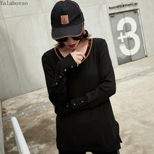 2019 Trend women Clothes Loose for Letter Streetwear Tees Casual hoodies female A110Z40 womens tops