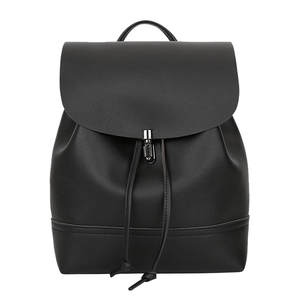 Backpack Satchel Shoulder-Bag Vintage Mochila-Feminina Women Trave Pu Simply Pure-Color