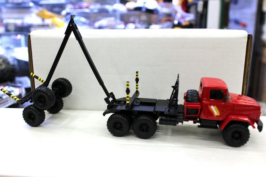 OFERTA ESPECIAL raro 1:43 Rusia Unión Soviética camión pesado transporte de madera vehículo aleación modelo de colección-in Troquelado y vehículos de juguete from Juguetes y pasatiempos    3