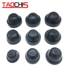 Taochis, 2 шт., автомобильный светильник, головной светильник, пылезащитный чехол, резиновый, пылезащитный, для HID, светодиодный, 65 мм-110 мм, водонепроницаемый, уплотнительный, налобный фонарь, крышка