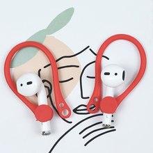 1 paire de crochets auriculaires en Silicone pour AirPods NC99, accessoires de sport Anti-perte