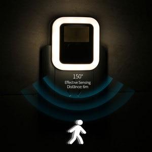 LED Night Light Mini Motion Sensor Light EU US Plug Night Lamp for Children Kids Living Room Bedroom Lighting AC110-240V(China)