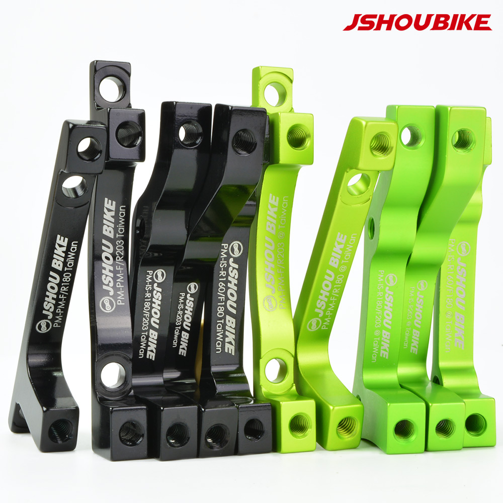 JSHOU BIKE Disc Brake Adapter Converter IS PM for Mountain Bike MTB 108mm 203mm Disc Brake Rotor Cycling Accessories Parts