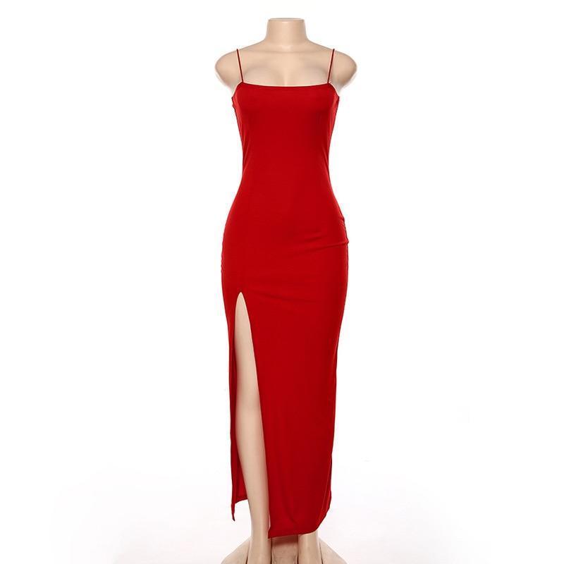 Maxi Split Dress