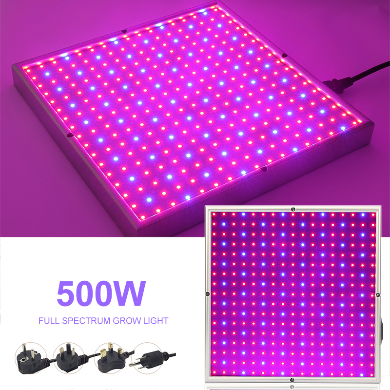 500W Indoor Led Grow Light Lamp For Plants Full Spectrum Phyto Lamp Fitolamp Growing Lamps For Flowers Grow Box Tent Room Growth