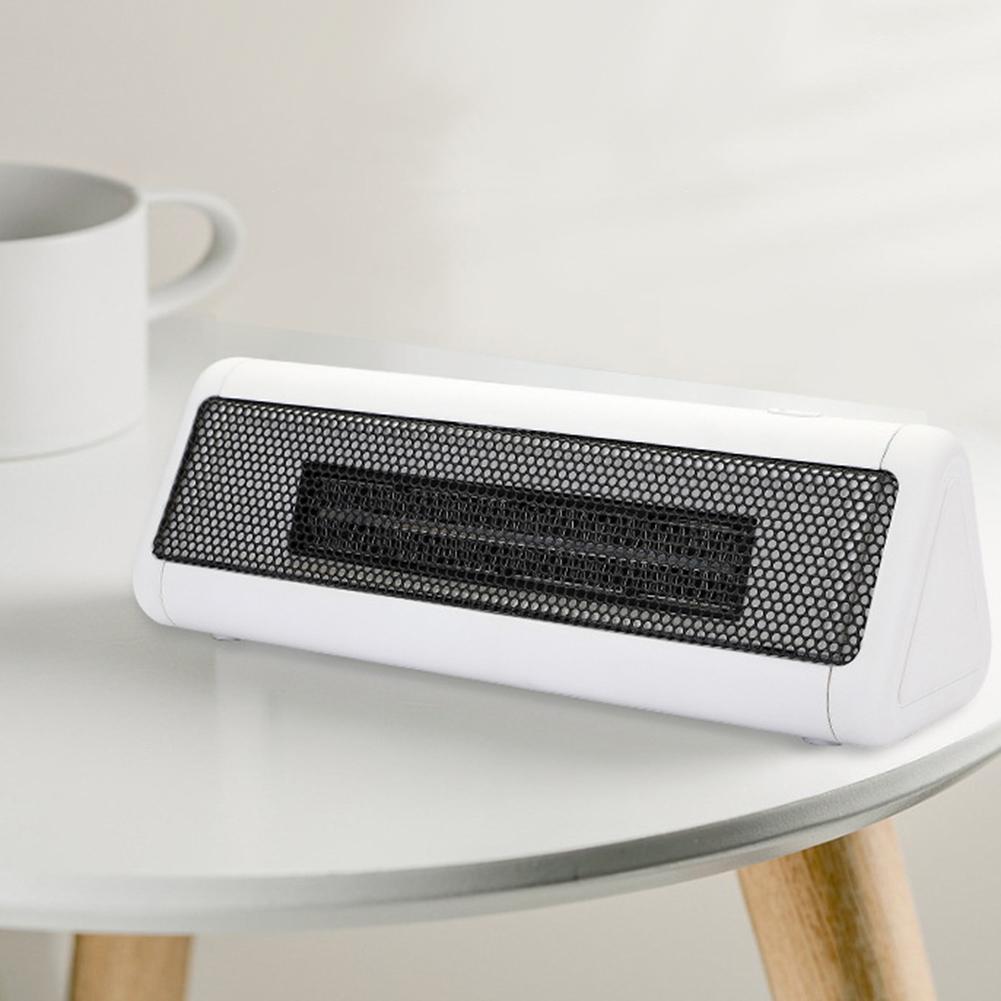 Mini 300W Home Office Dorm Desktop Air Heating Electric Heater Fan Winter Warmer
