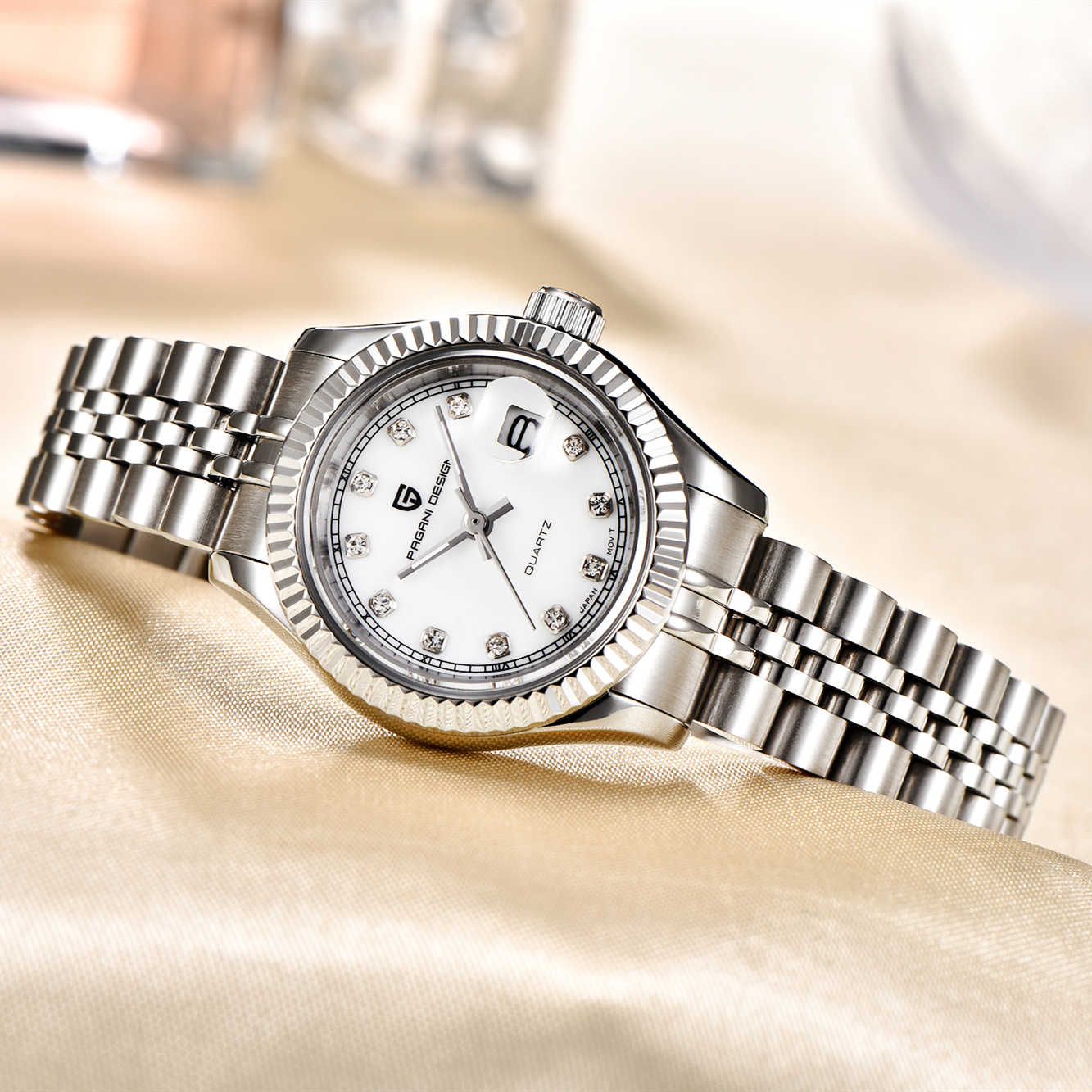 PAGANI עיצוב למעלה יוקרה מותג נשים שעונים גבירותיי שעון יד נירוסטה קלאסי ילדה נקבה שעון Relogio Feminino