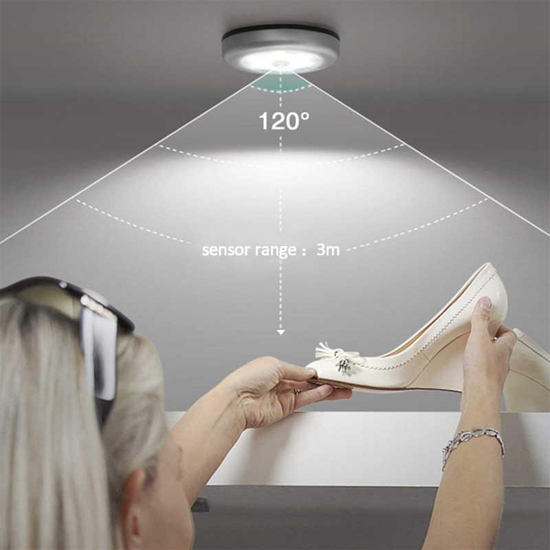 Светодиодный светильник для шкафа шкаф 3 светодиодный s Stick сенсорный светодиодный светильник s на батарейках ручка кран по всему миру кухня нажимная лампа белый шайба светильник ing