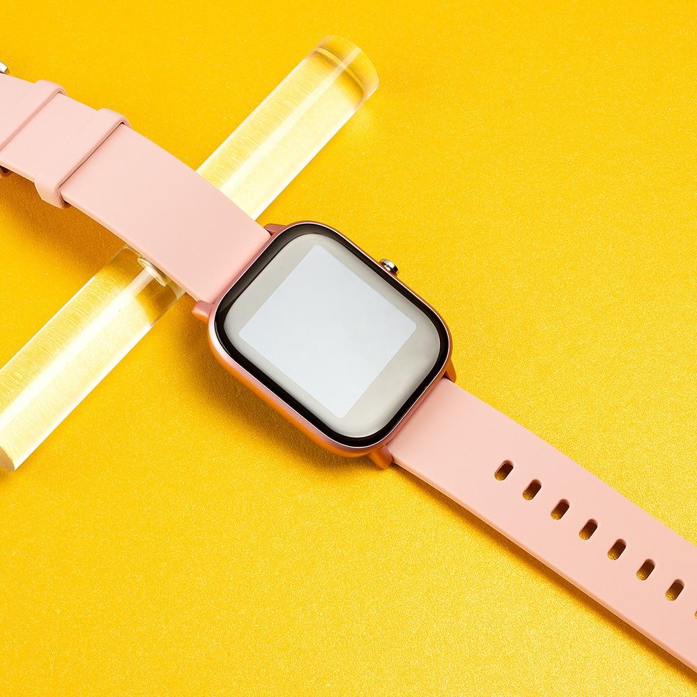 H47589485e61348cf92a34d6f5759f40fr 2021 New P8 Color Screen Smart Watch Women men Full Touch Fitness Tracker Blood Pressure Smart Clock Women Smartwatch for Xiaomi