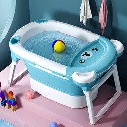Large Baby Folding Bath Tub  Baby Bath Tub  Bath Tub for Baby  Take The Dual Bath Baby Gift  Baby Newborn Products