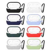 Étui en Silicone souple pour écouteurs OnePlus Buds Z, coque de protection pour casque, accessoires pour écouteurs avec crochet, nouvelle collection 2020