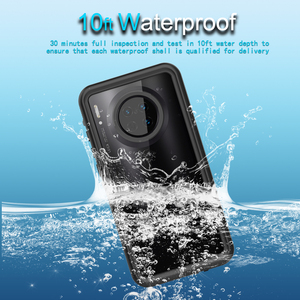 Image 1 - waterproof case For huawei mate 30 pro case Shockproof Diving Swim Outdoor 360 Full Protect For mate 30 20 pro case Cover Coque