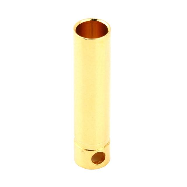 10 pcs 4.0mm Male&Femalel Banana gold Plug connectors For Battery ESC Motor 1