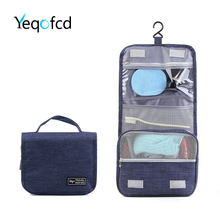 Yeqofcd 1 PCS Hanging Toiletry Kits Cosmetic Bags Wash Makeup Bag Case Oxford Travel Organizer For Men Women With Sturdy Hook