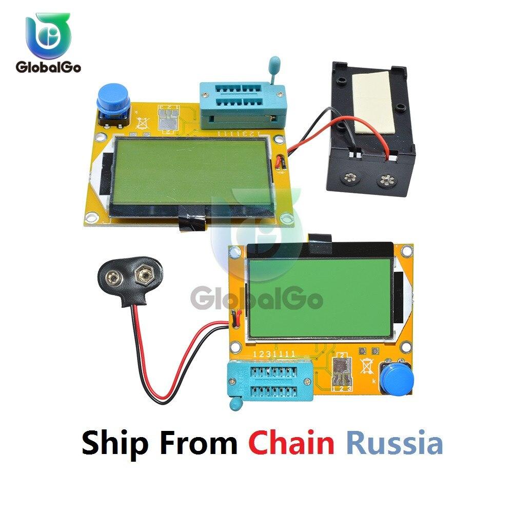 Тестер транзисторов, Цифровой тестер транзисторов с ЖК дисплеем Фарадаметры      АлиЭкспресс