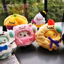 Хэллоуин Сан-х sumikkourashi мягкие животные плюшевые брелоки игрушки/Sumikko носить шляпа Тыква для всех подарок на день Святого Валентина