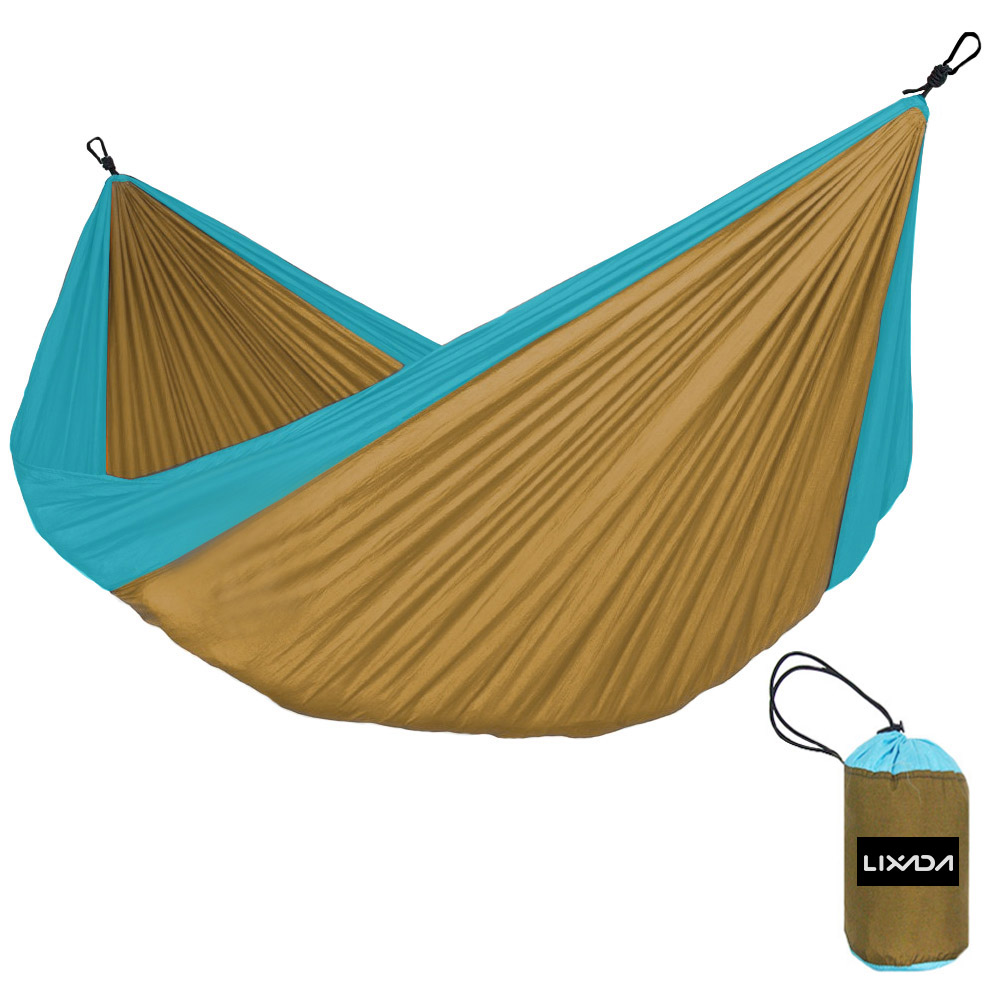 320cm*200cm Two Persons Hammock Swing Sleeping Bed Outdoor Camping Travel Survival Hammock Portable