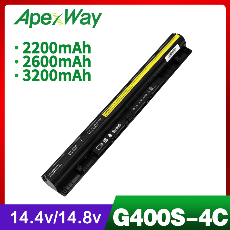 2200mAh Laptop Battery For Lenovo G400s G405s G410s G500s G505s G510s S410p S510p Z710 L12L4A02 L12M4A02 L12S4A02 L12S4E01