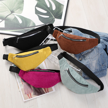 New Fashion  Waist Bag For Men And Women Fanny Girl Pouch Mobile Phone Money Belt Message