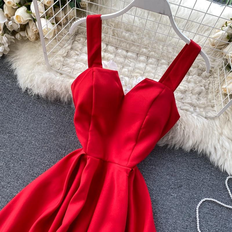 Elegant Vintage Sleeveless V-Neck Bandage Dress 27