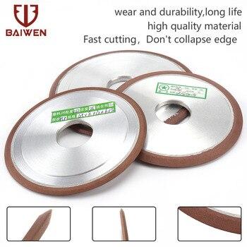 цена на 125/150mm Diamond Grinding Wheel enhanced Resin Cutting Disc for Tungsten Steel Milling Tool Carbide Metal