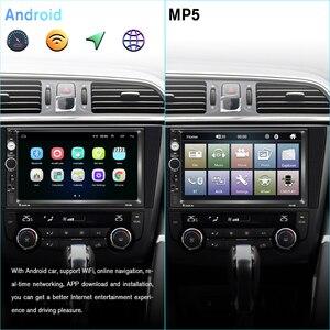 Image 3 - Podofo Android Car Multimedia Player GPS 7010B 2 Din Stereo Radio Autoradio For Volkswagen Skoda Nissan Hyundai Kia Toyota Lada
