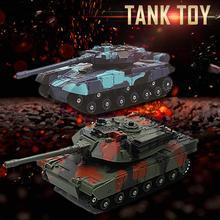 2 шт. Rc Танк маленький детский игрушечный автомобиль двойной боевой автомобиль Pk игра игрушка пульт дистанционного управления автомобиль ребенок игрушки для игра для мальчиков