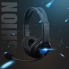 NEW 3.5mm Gaming Headset For PS4 Wired Headphones With Microphone Mic Earphone f