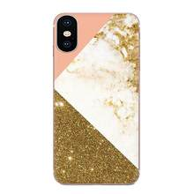 Gold Marble Collage For Xiaomi Redmi Note 2 3 3S 4 4A 4X 5 5A 6 6A Pro Plus Diy Phone Case(China)