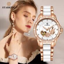 STARKING Womens Mechanical Watch Automatic Self-wind Wrist