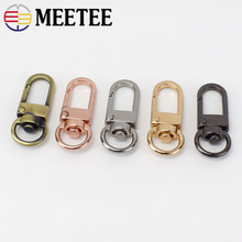 10/20pcs 10mm Metal Dog Buckle Spring Snap Clasp Hook KeyDIY Bag Decor Hang Buckles Hardware Leather Carfts Accessories F3-29