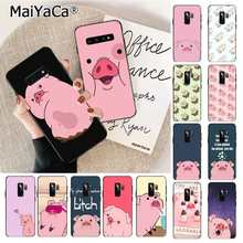 MaiYaCa Cartoon Anime Gravity Falls pig Luxury Phone Cover for Samsung S9 S9 plus S6 edge plus S7 S7edge S8 S8plus S10 S10 plus(China)