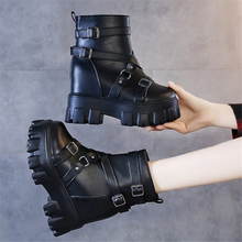 2020 Autumn Winter Fashion Women Leather Ankle Boot Lace up Wear-resistant non-slip women boot Comfortable breathable Boot