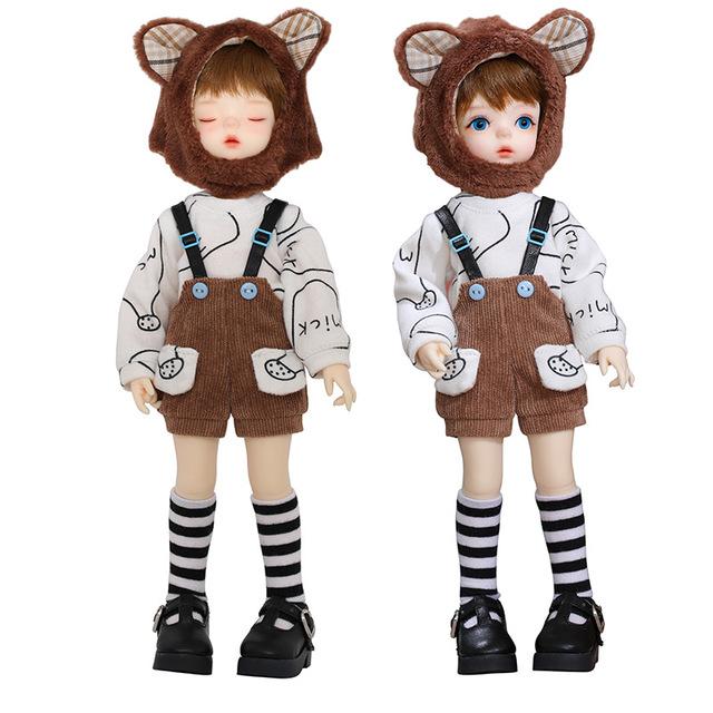 New Soo Doll BJD SD 1/6 YoSD Body Model Children Toys High Quality Resin Figures Cute Gift Luodoll OB11