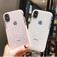 Cover for Iphone 7 Cases Silicone Soft Phone Cases for Iphone7 Plus 8 8 Plus 6 6s XR X XS Max Cases Fundas Cell Phone Cases cheap Marble Quotes Messages Animal Transparent Geometric Fitted Case Anti-knock Dirt-resistant Apple iPhones iPhone 6 iPhone 6 Plus