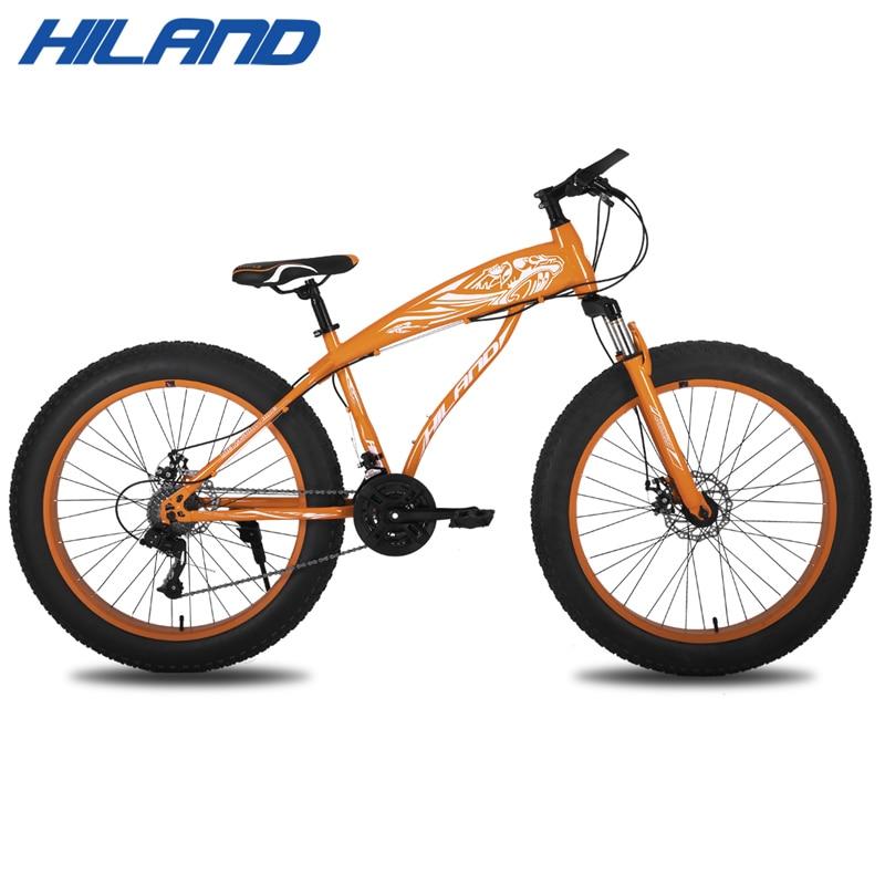 26 дюймов 7/21/24 скорость Снег велосипед стальная рама для велосипеда с разрывом и перестановкой Зимний велосипед для 150-180 см высота