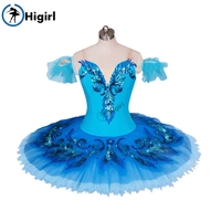 blue bird ballet tutu for girls ballet costumes professional classical ballet tutus nutcracker ballet costumes BT9027