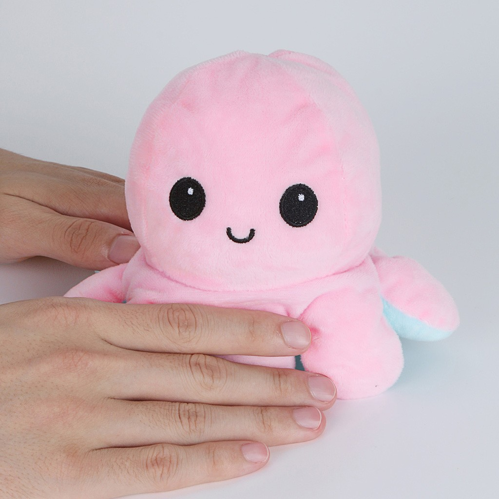 Stuffed Doll Moods Toy Plush-Toy Mascot Simulation-Flip Two-Sided Show Soft Different