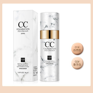 Foundation CC Stick Lightweight Natural Waterproof and Sweatproof Long-lasting Non-makeup Air cushion CC Cream