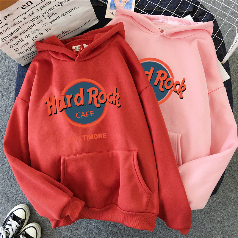 SONDR Large Size Hoodies Letter Printed Sweatshirt Women Winter Warm Streetwear Oversized Pullovers Punk Graphic Thicken Hoodies